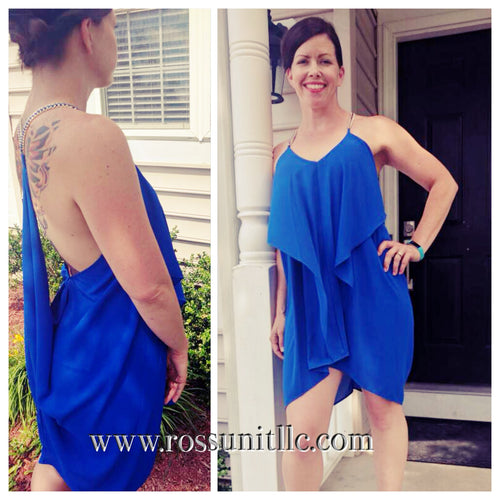 Blue Waterfall Sundress