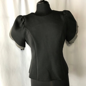 Scuba Puff Sleeve Top