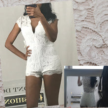 White Lace Romper