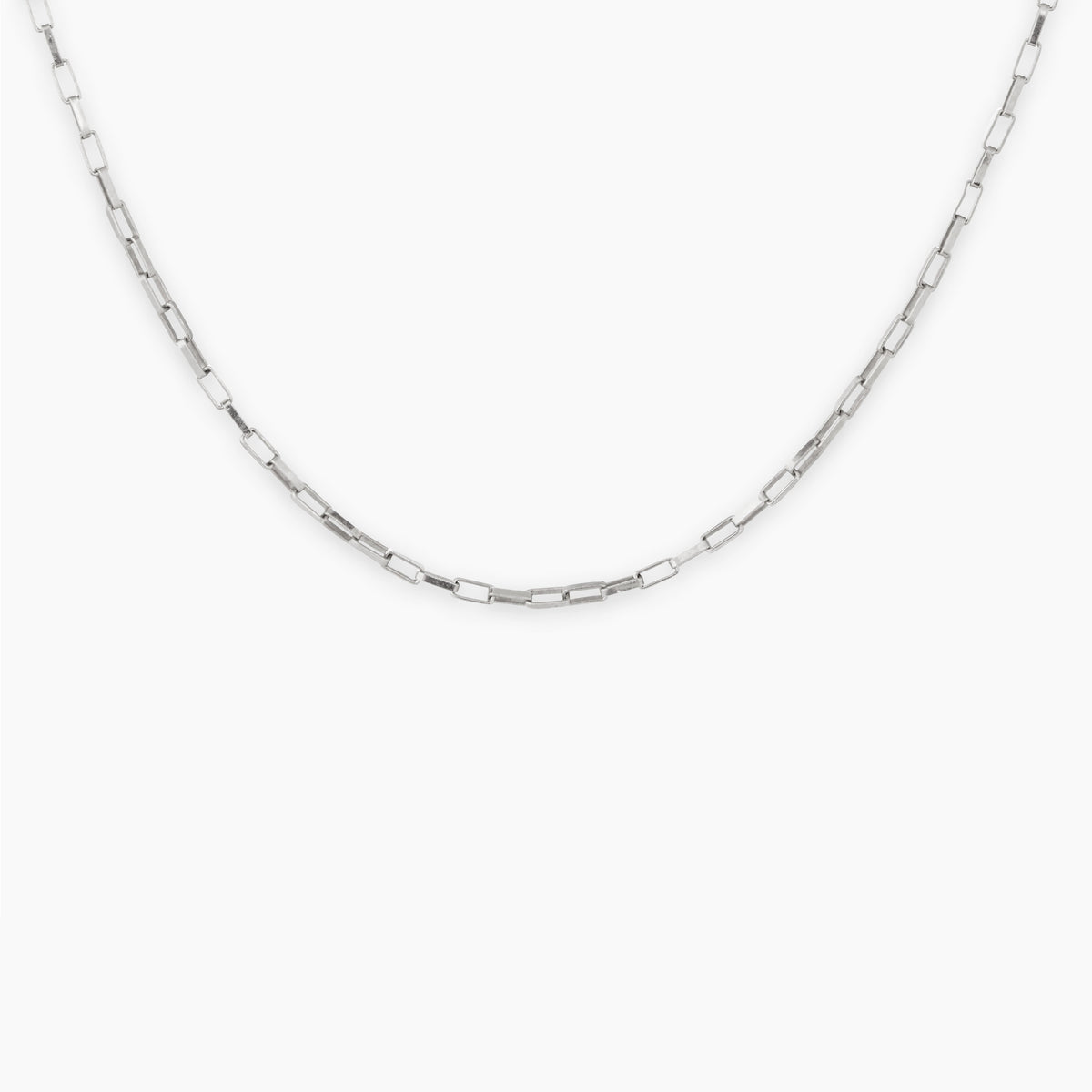 Silver Electric Chain Long