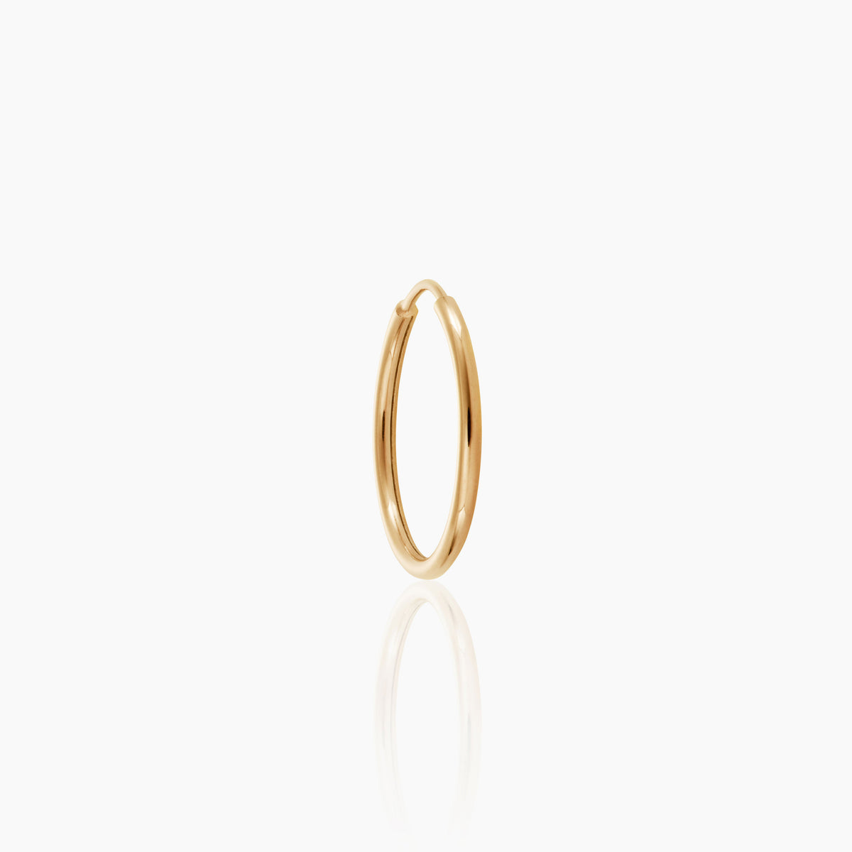 12mm Vermeil Endless Hoop