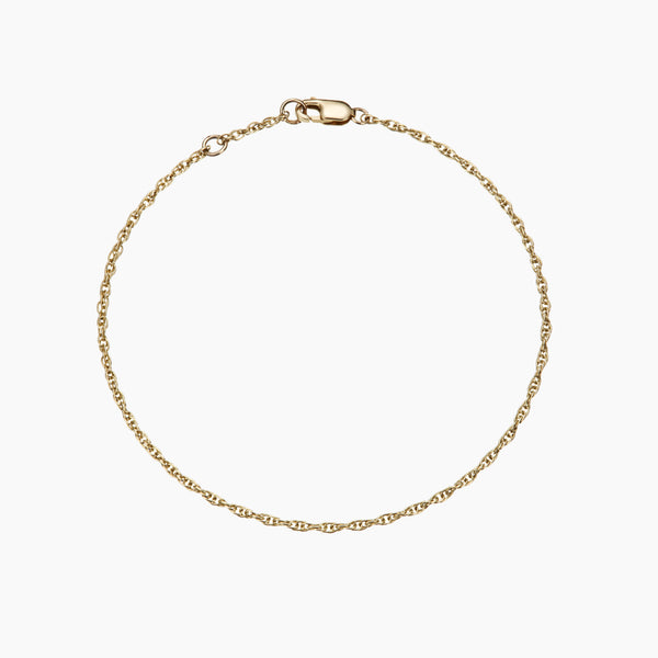 The Forever Solid Gold Bracelet