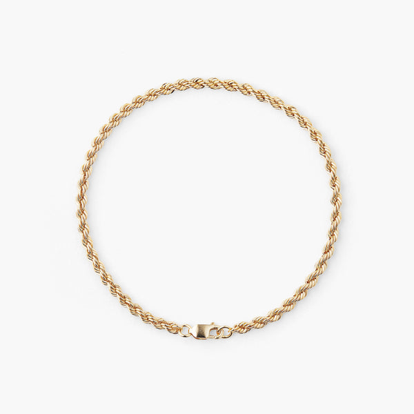 Gold Twist Eternal Bracelet