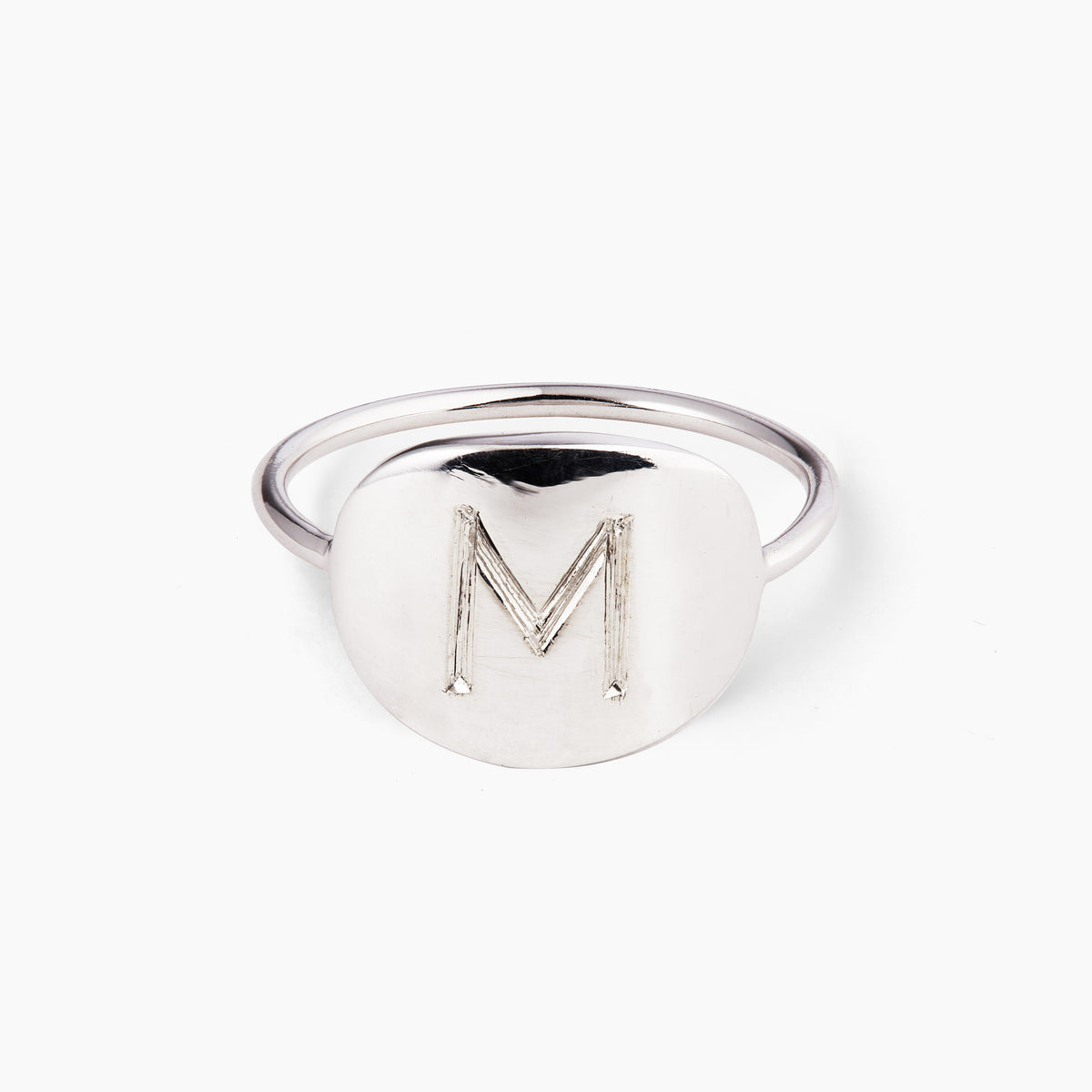 Sterling Silver Ring. Complementary Hand Engraving.