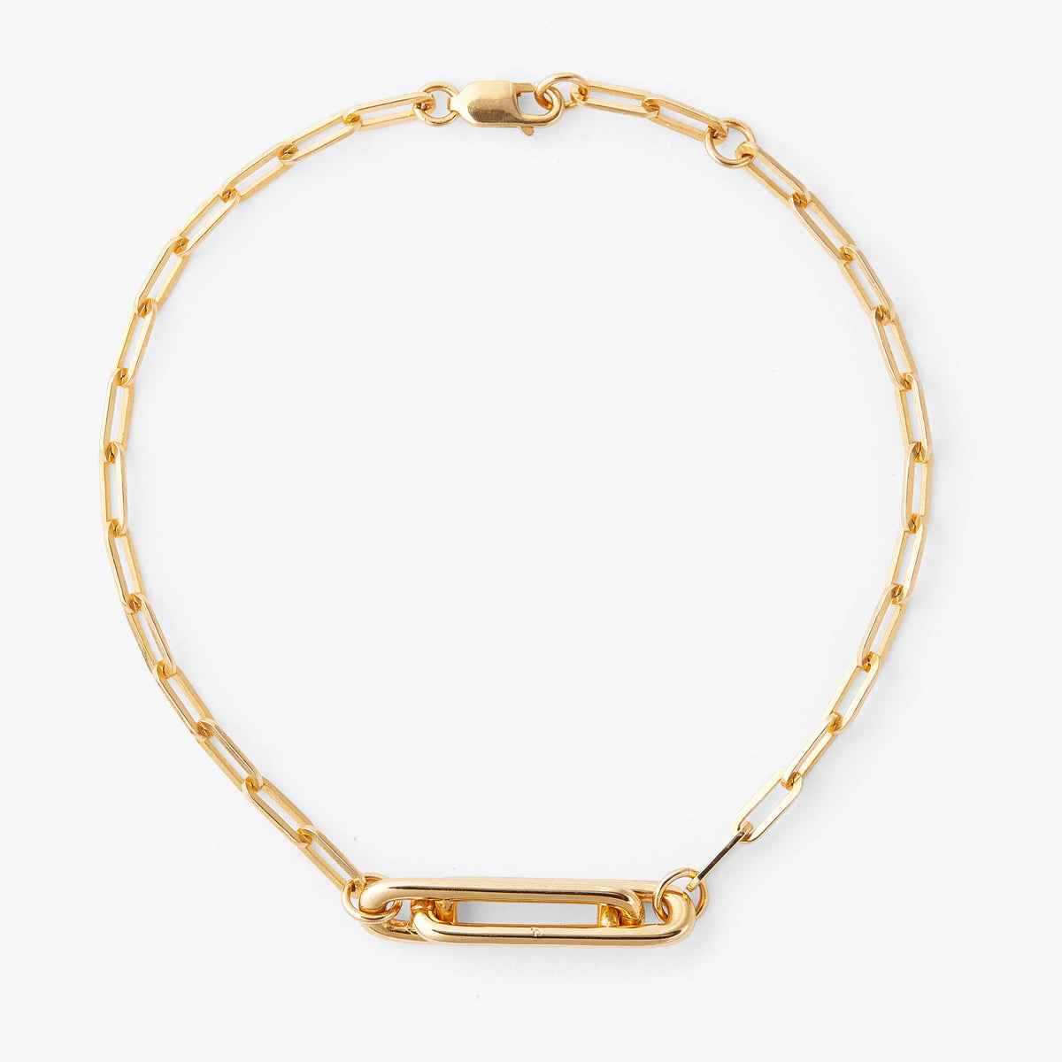 Locked Love Link Bracelet