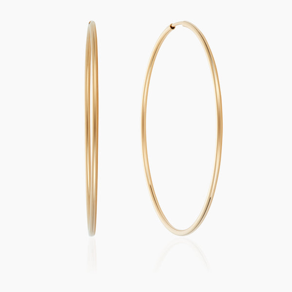 Large Gold Hoops
