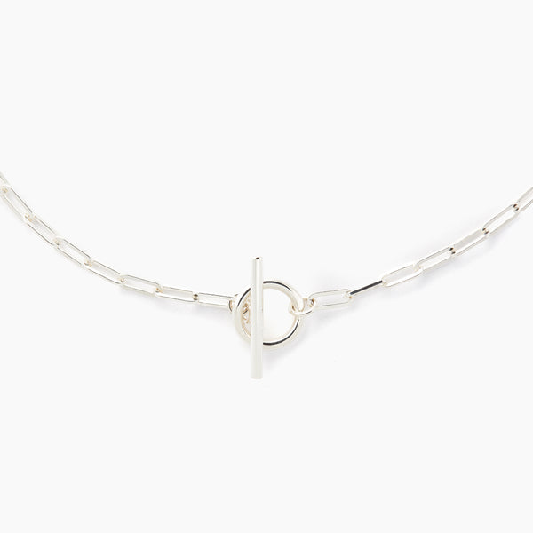 Silver Love Link Necklace (Pre-order)
