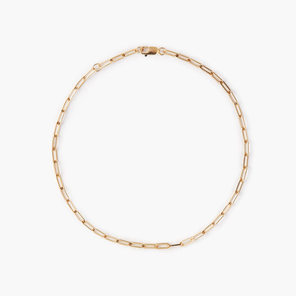 Love Link Gold Chain Anklet