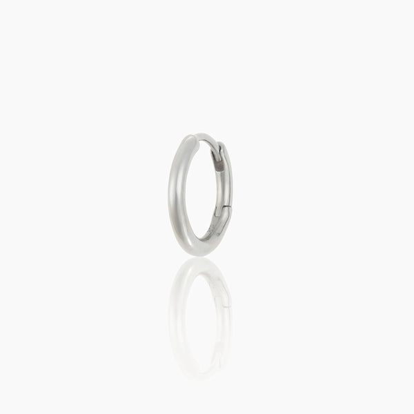 Mini Silver Essential Hoop