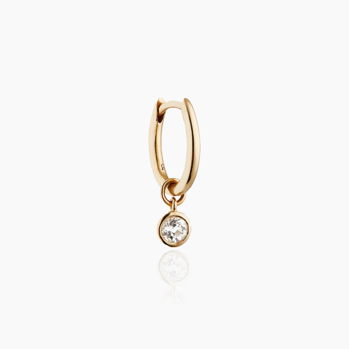 Mini Oval & Circle Drop Charm