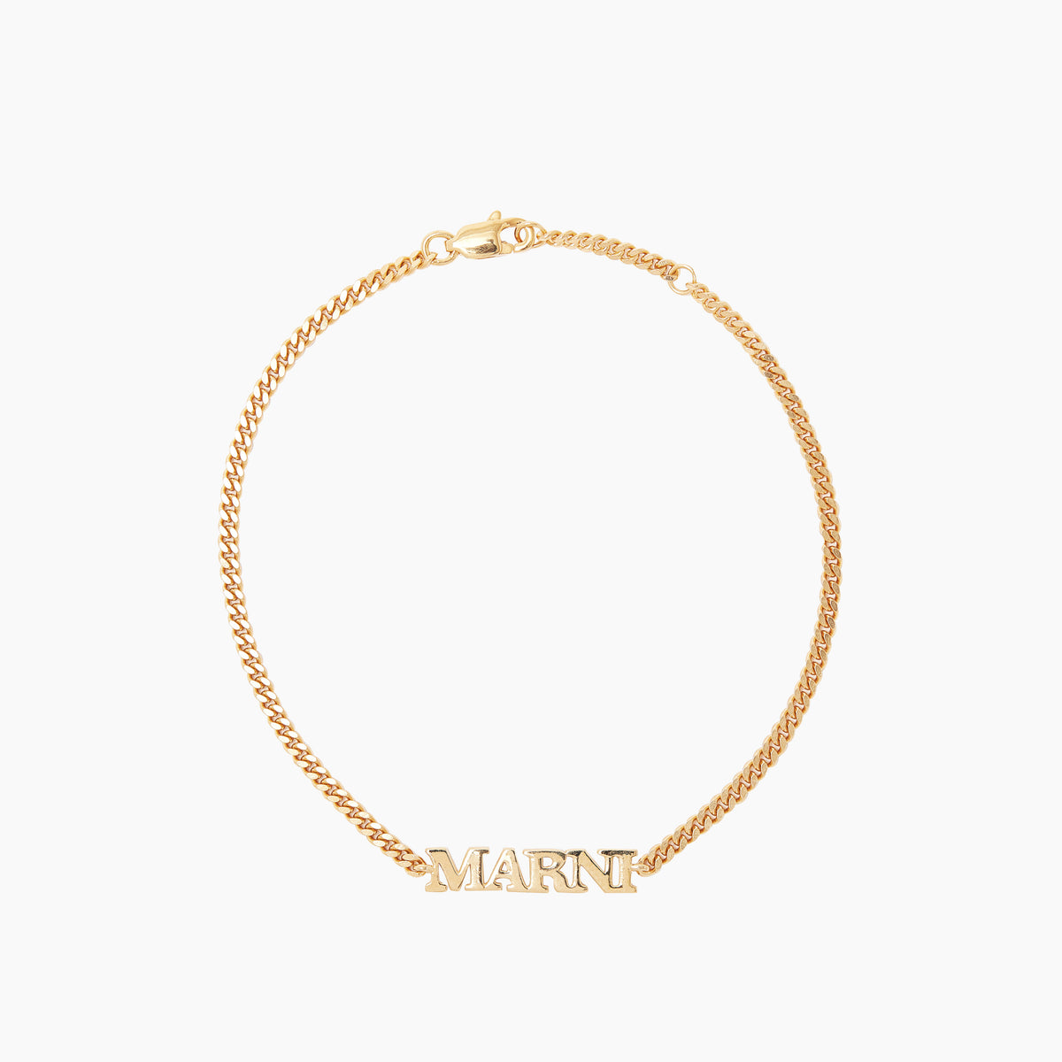 Personalised Name Bracelet (Solid 9k Yellow Gold)