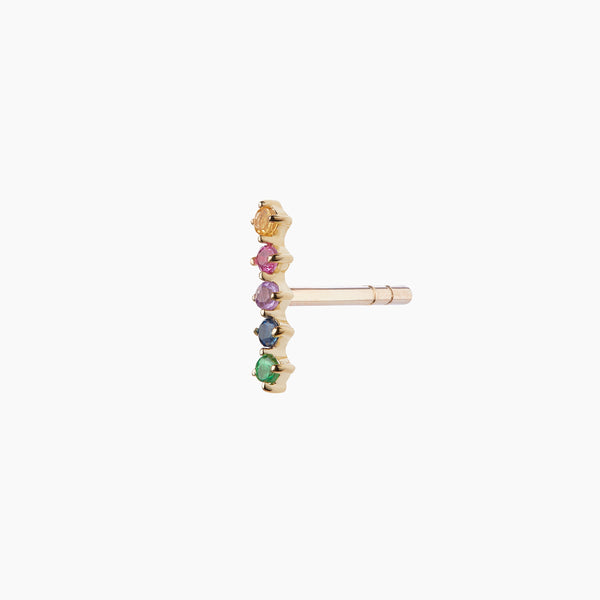 Rainbow Bar Stud