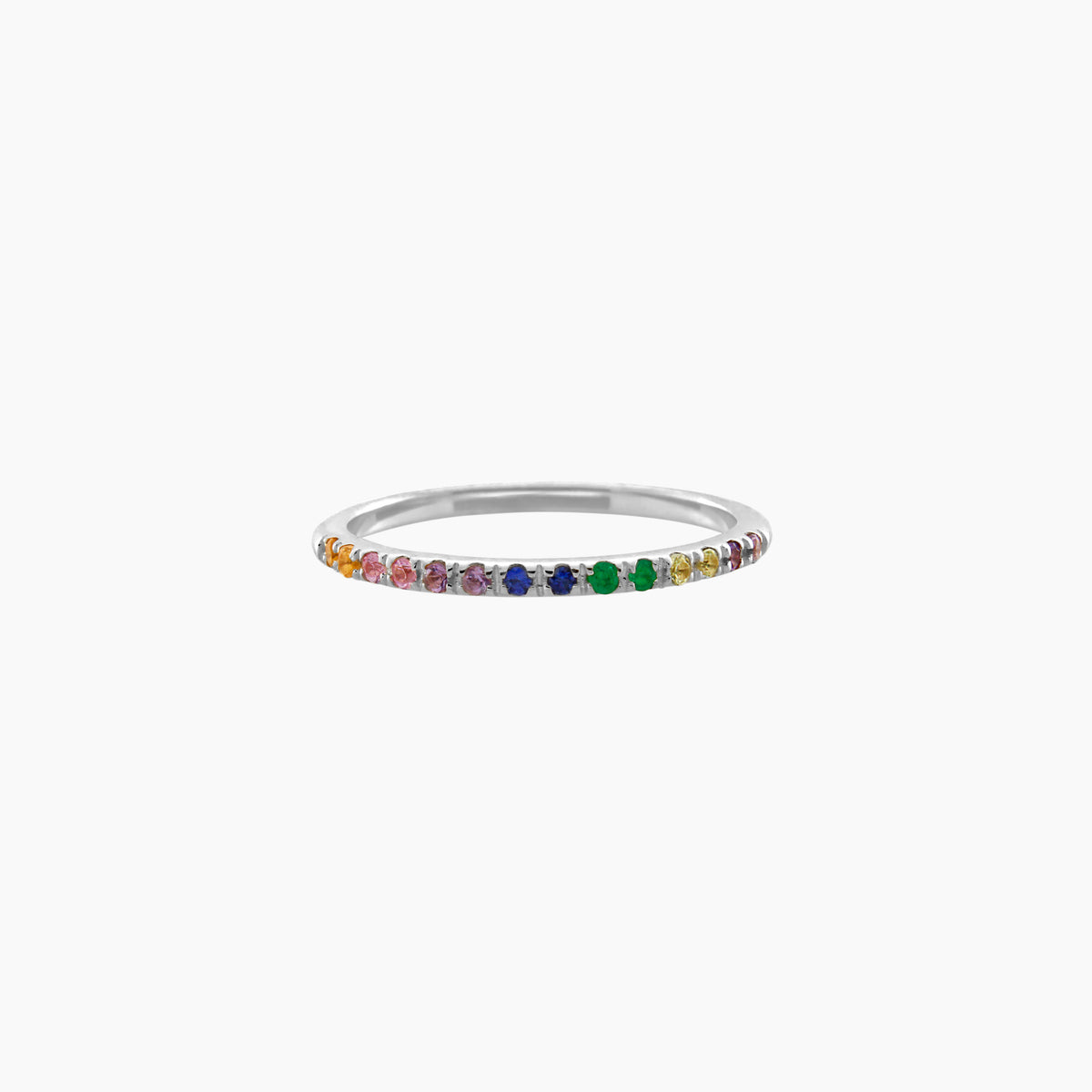 Silver Rainbow Ring