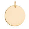 Large Solid Gold Disc