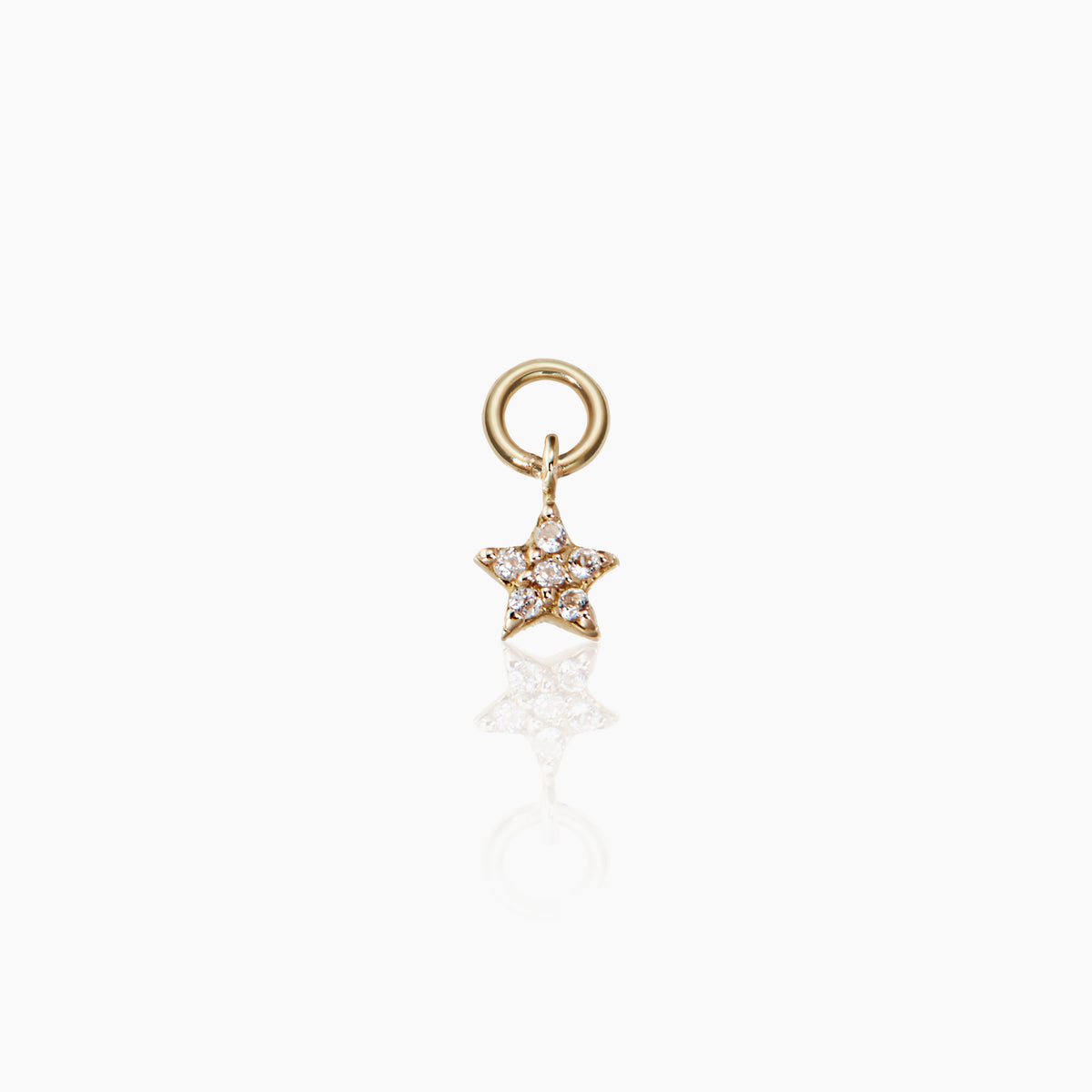 Tiny Star Hoop Charm Preorder