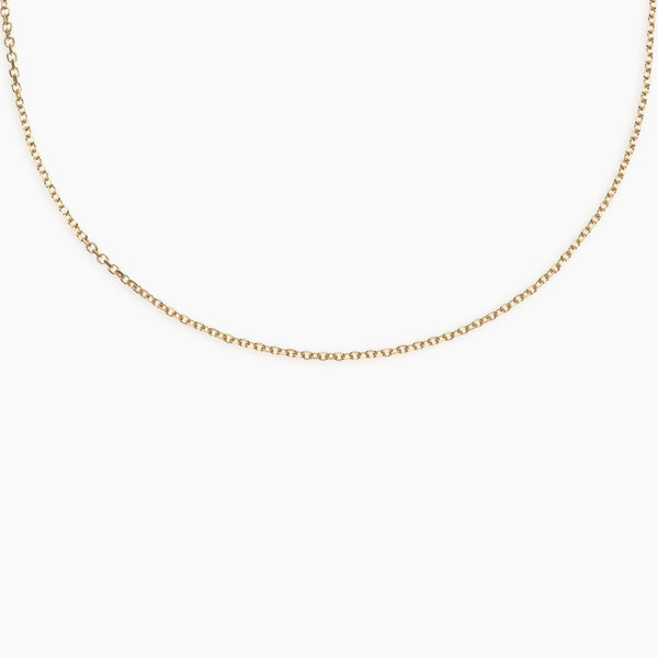 Solid Gold Trace Chain