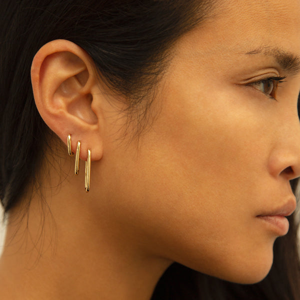 Alex Eagle X Otiumberg Large Gold Earring (Pre-order)