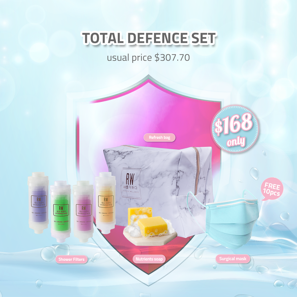 Total Defence Set (Suitable for Whole Family)