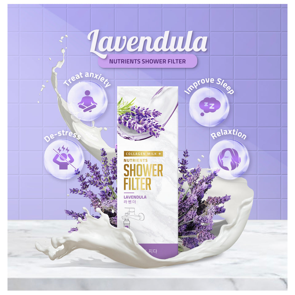 Lavendula Collagen Milk+ Nutrients Shower Filter