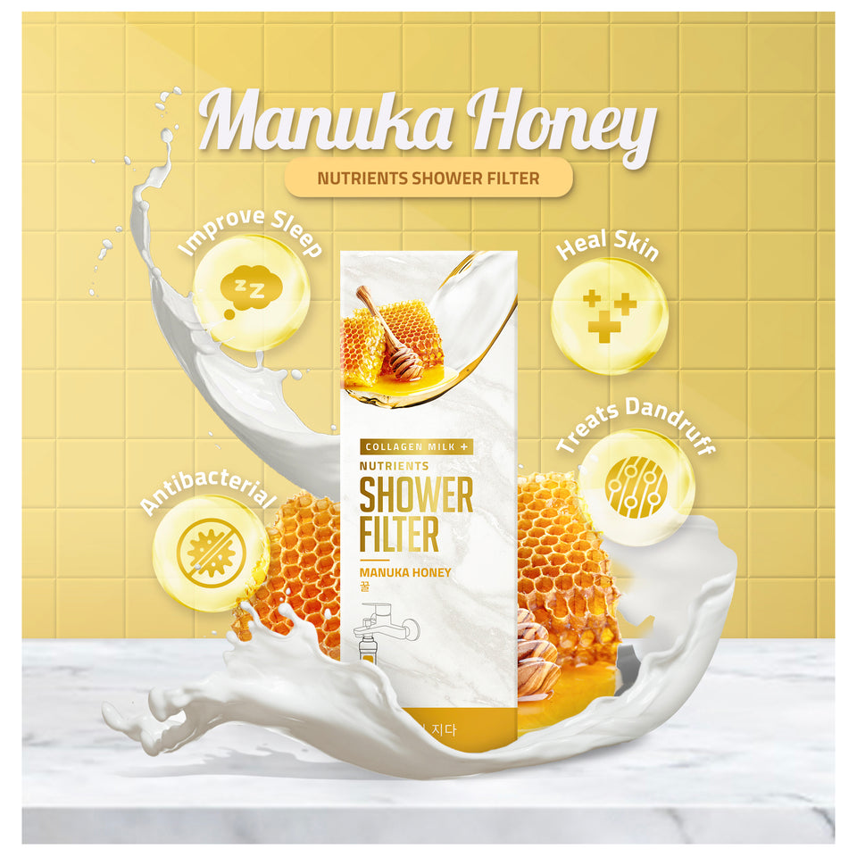 Manuka Honey Collagen Milk+ Nutrients Shower Filter
