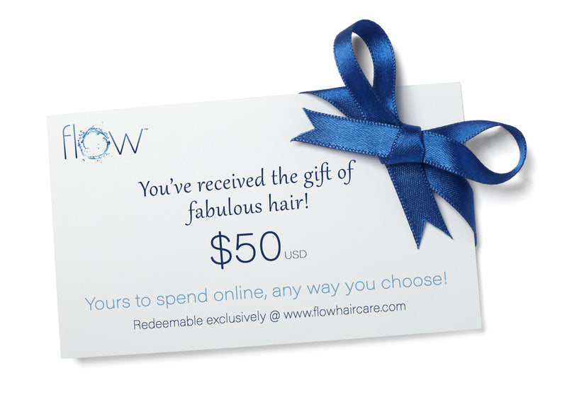 The Flow $50 Gift Card - Flow Haircare