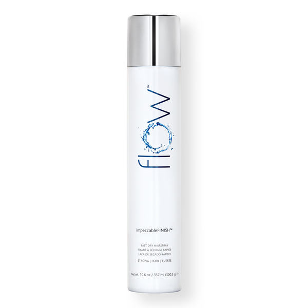 impeccableFINISH™ FAST DRY Hairspray, 10.6 fl oz - Flow Haircare