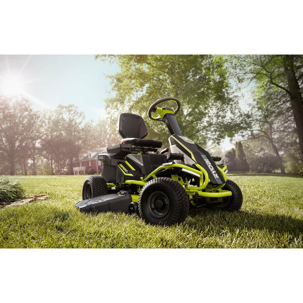 Electric Riding Lawnmower