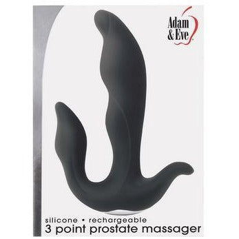 Adam and Eve 3 Point Prostate Silicone Massager