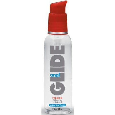 Anal Glide Silicone Lubricant - 2 oz.
