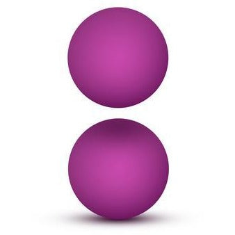 Luxe Double O Advanced Kegel Balls - Pink