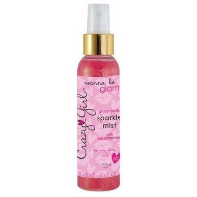 Crazy Girl Glitzy Body Sparkle Mist with Sex Attractant - So Very Berry Wild