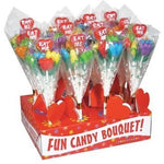 EAT ME!  Candy Tulip Bouquet- 12 Count with Display