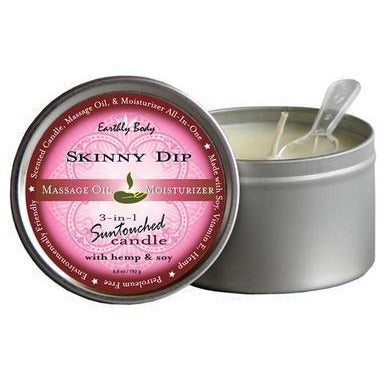 3-in-1 Skinny Dip Suntouched Candle With Hemp - 6.8 oz.