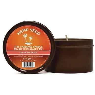 Hemp Seed 3-in-1 Massage Candle   - Sex on the Beach