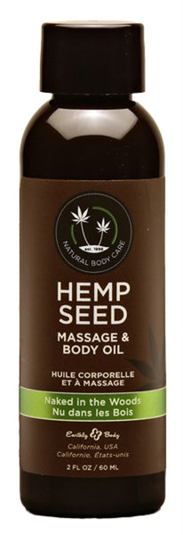 Hemp Seed Massage & Body Oil 2 Fl. Oz.
