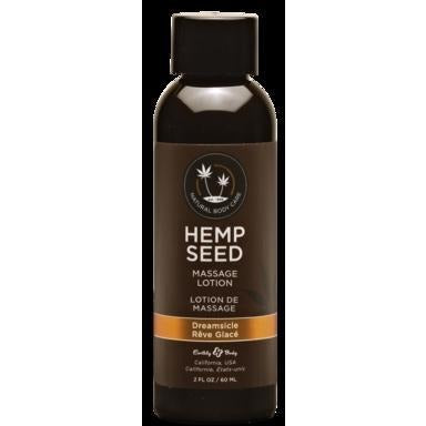 Hemp Seed Massage Lotion - Dreamsicle - 2 Fl. Oz.  - 60 Ml