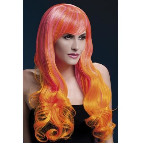 Emily Wig - Pink And Orange
