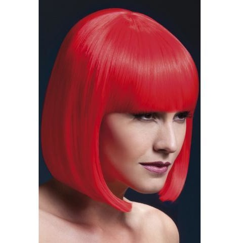 Elise Wig - Neon Red
