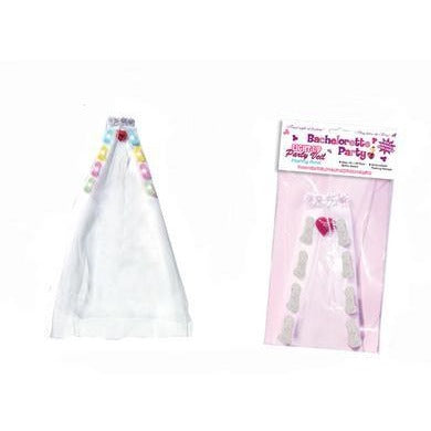 Bachelorette Party Light-Up Party Veil Flashing Penis