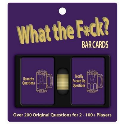 What The Fuck-Bar Cards