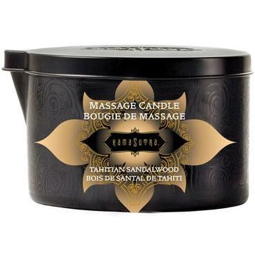 Massage Oil Candle - Tahitian Sandalwood - 6 Oz.