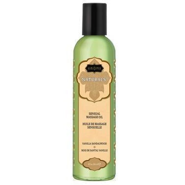 Naturals Massage Oil - Vanilla Sandalwood  8 Fl. Oz.