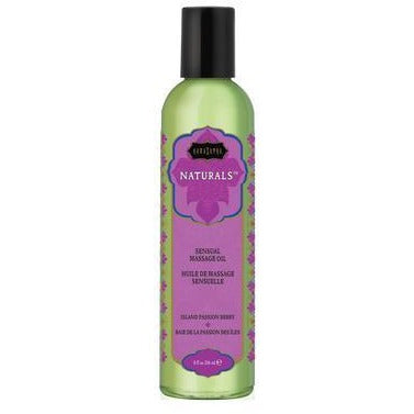 Naturals Massage Oil - Island Passion Berry - 8 Fl. Oz.