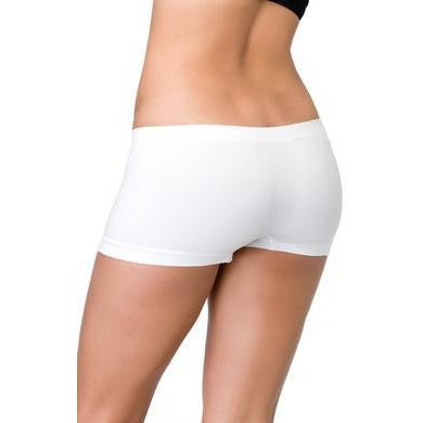 Seamless Boyshorts - White