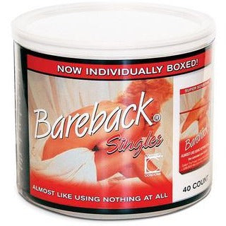 Contempo Bareback - 40 Count  Jar