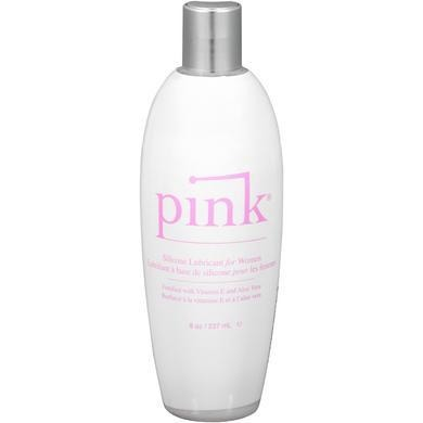 Pink Silicone Lubricant for Women - 8 Oz Flip Top  Bottle