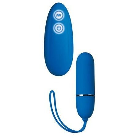 Posh 7-Function Lovers Remote - Blue