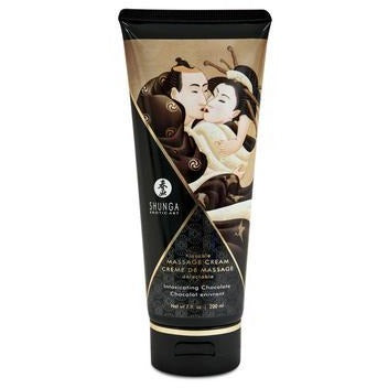 Kissable Massage Cream - Intoxicating Chocolate -  7 Fl. Oz. - 200 Ml