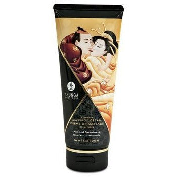 Kissable Massage Cream - Almond Sweetness - 7 Fl.  Oz. - 200 Ml