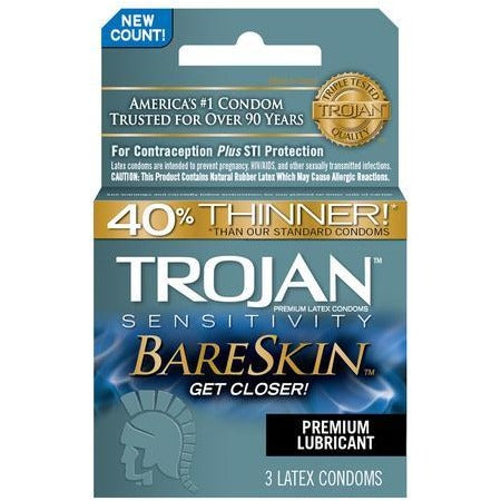 Trojan Sensitivity Bareskin - 3 Pack
